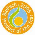 世界最大規模のオーガニックエキスポBIOFACHで最優秀商品賞を受賞しています。