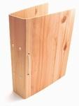 スギの間伐材パイプファイル 背幅5cm