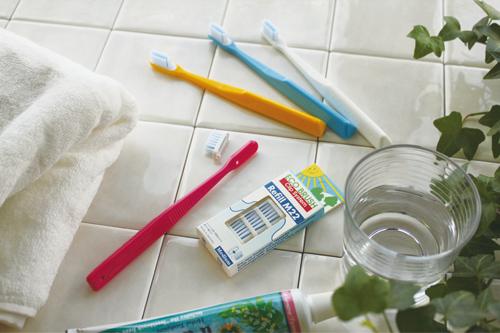 生活アートクラブのエコ歯ブラシと替えブラシ