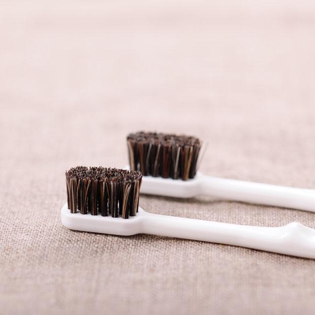 馬毛歯ブラシ 小3本組