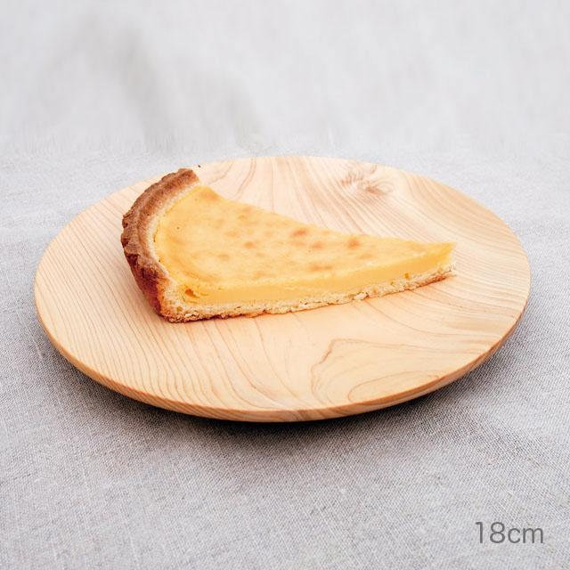 間伐材のお皿 ひのき