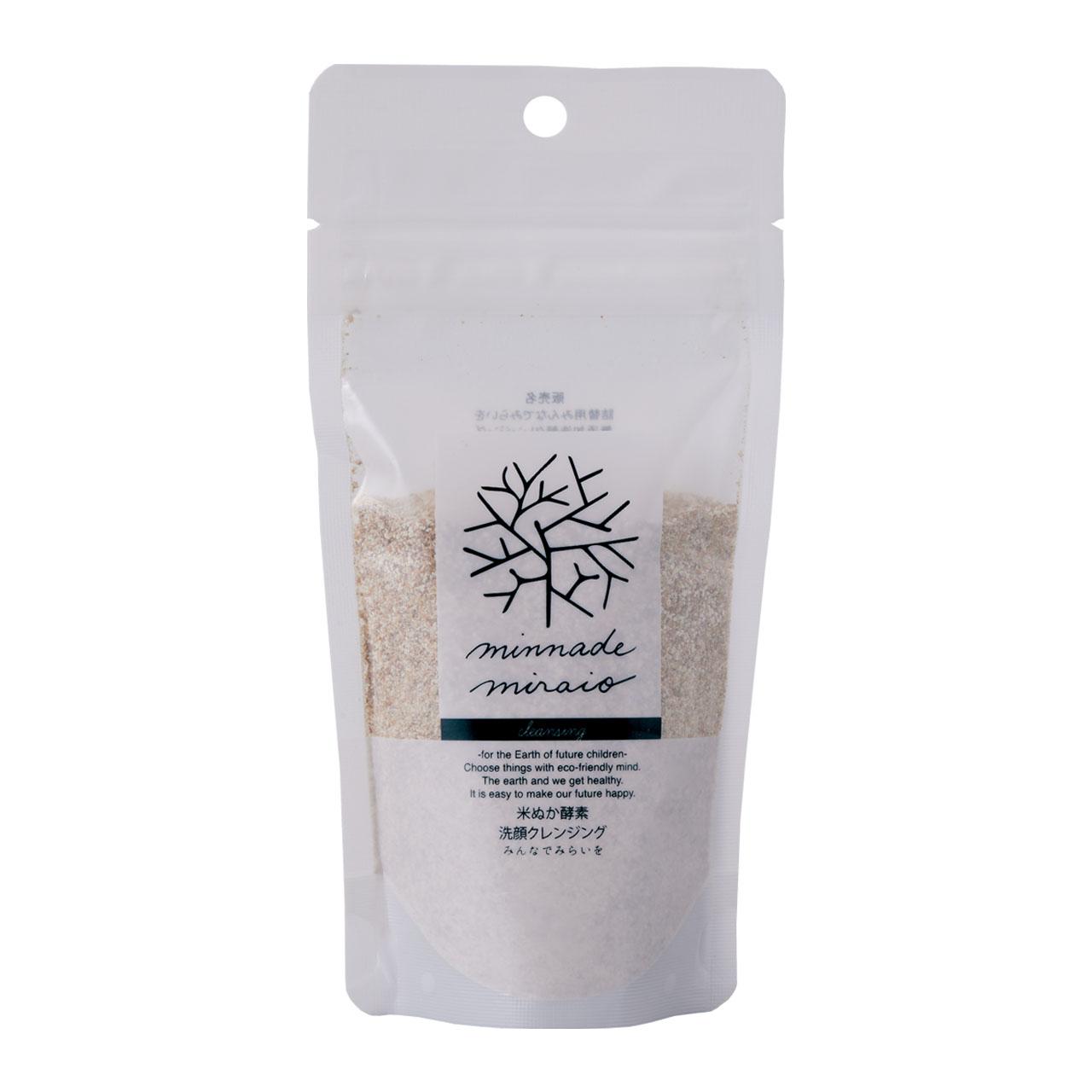 米ぬか酵素 洗顔クレンジング 詰替えパック