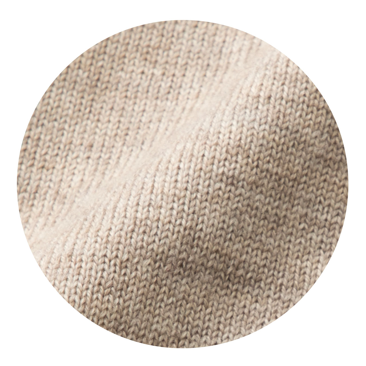 国産ニットサキハナロングカーディガン画像