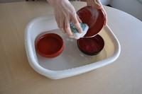 漆器の洗い方